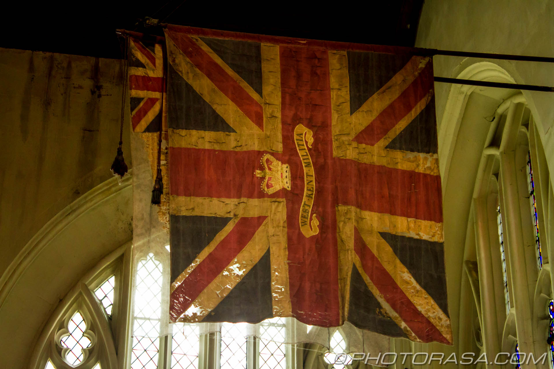 http://photorasa.com/inside-all-saints-church-in-maidstone/old-military-union-flag/