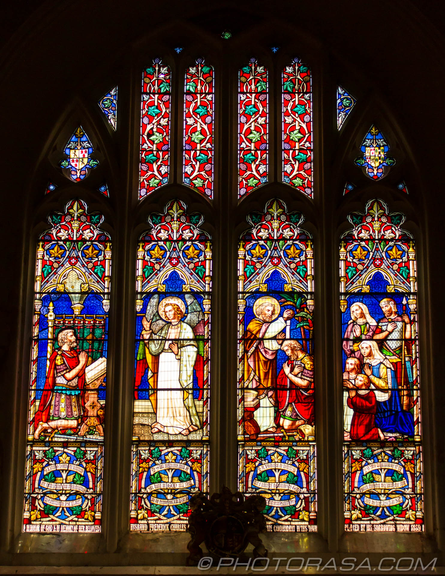 http://photorasa.com/inside-all-saints-church-in-maidstone/stained-glass-window-at-maidstone-all-saints/