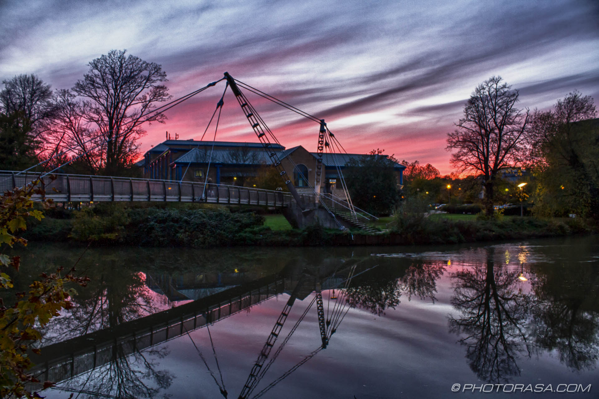 http://photorasa.com/red-sky-night/dramatic-red-sky-at-maidstone-footbridge/