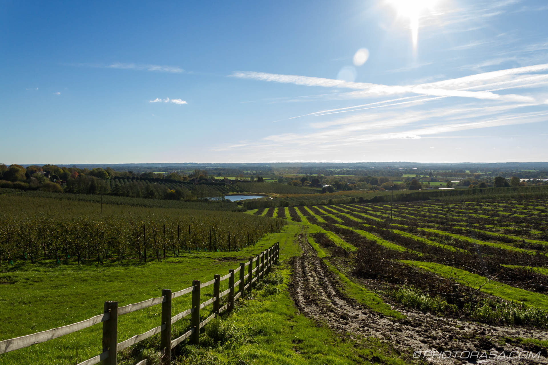 Sunny Views From Linton Hill Photorasa Free Hd Photos