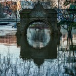 flooded arch reflection