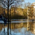river medway flooded at tovil