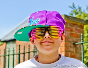 colourful french kid