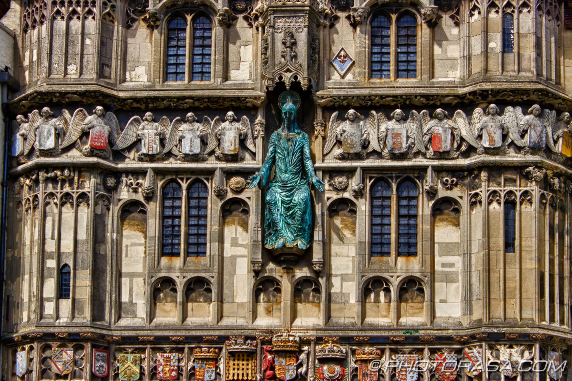 Canterbury Katedrális bejárata