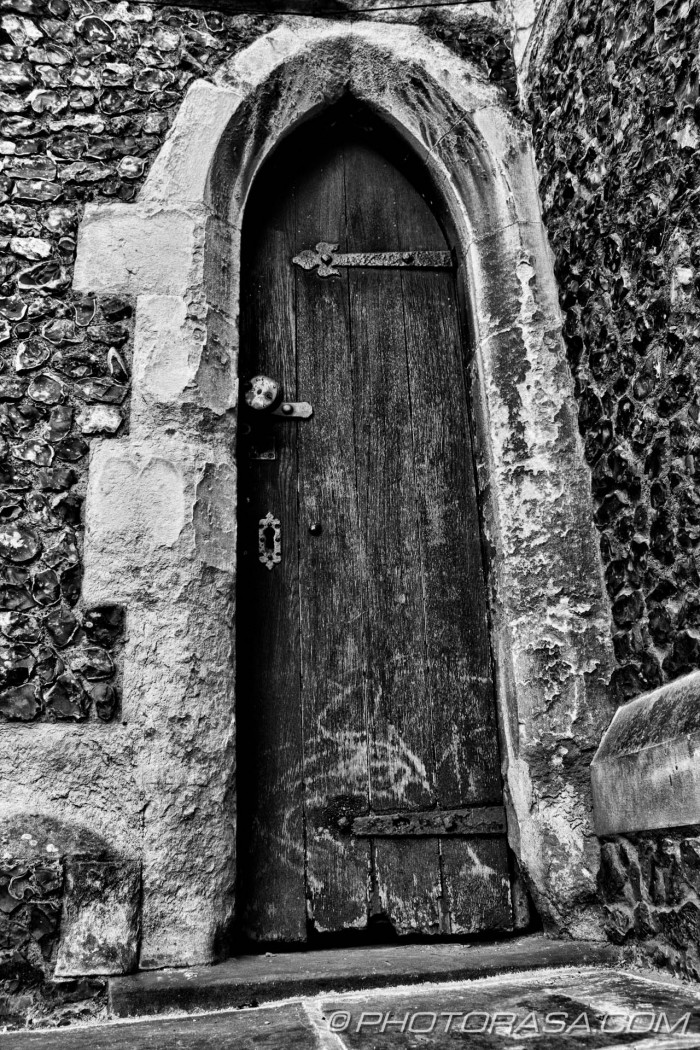 narrow old door