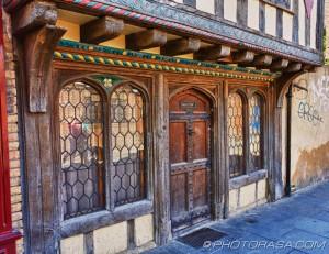 old decorative shop front