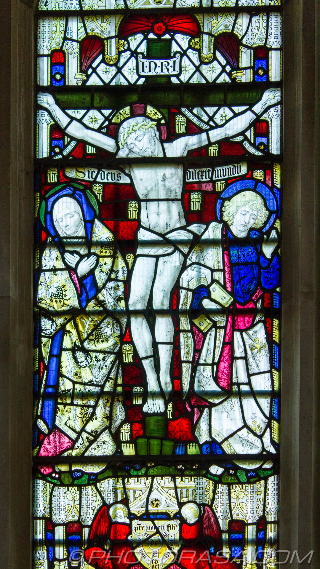 http://photorasa.com/parish-church-st-peter-st-paul-headcorn/chancel-window-detail-showing-jesus-on-the-cross-with-mary-and-b/