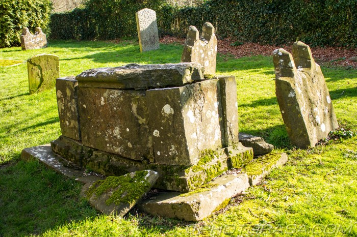 crumbling tomb