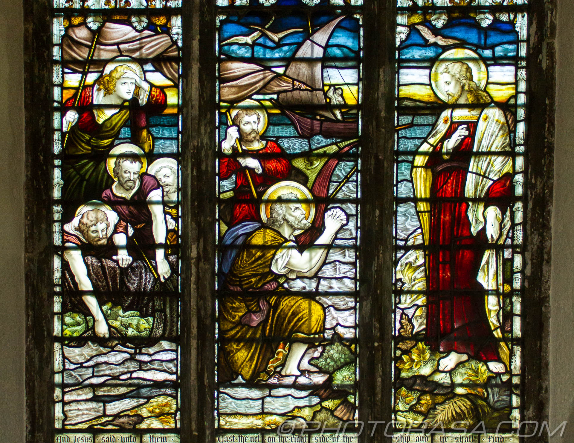 http://photorasa.com/parish-church-st-peter-st-paul-headcorn/north-stained-glass-window-detail-showing-fishermen-begging-jesus-for-help/