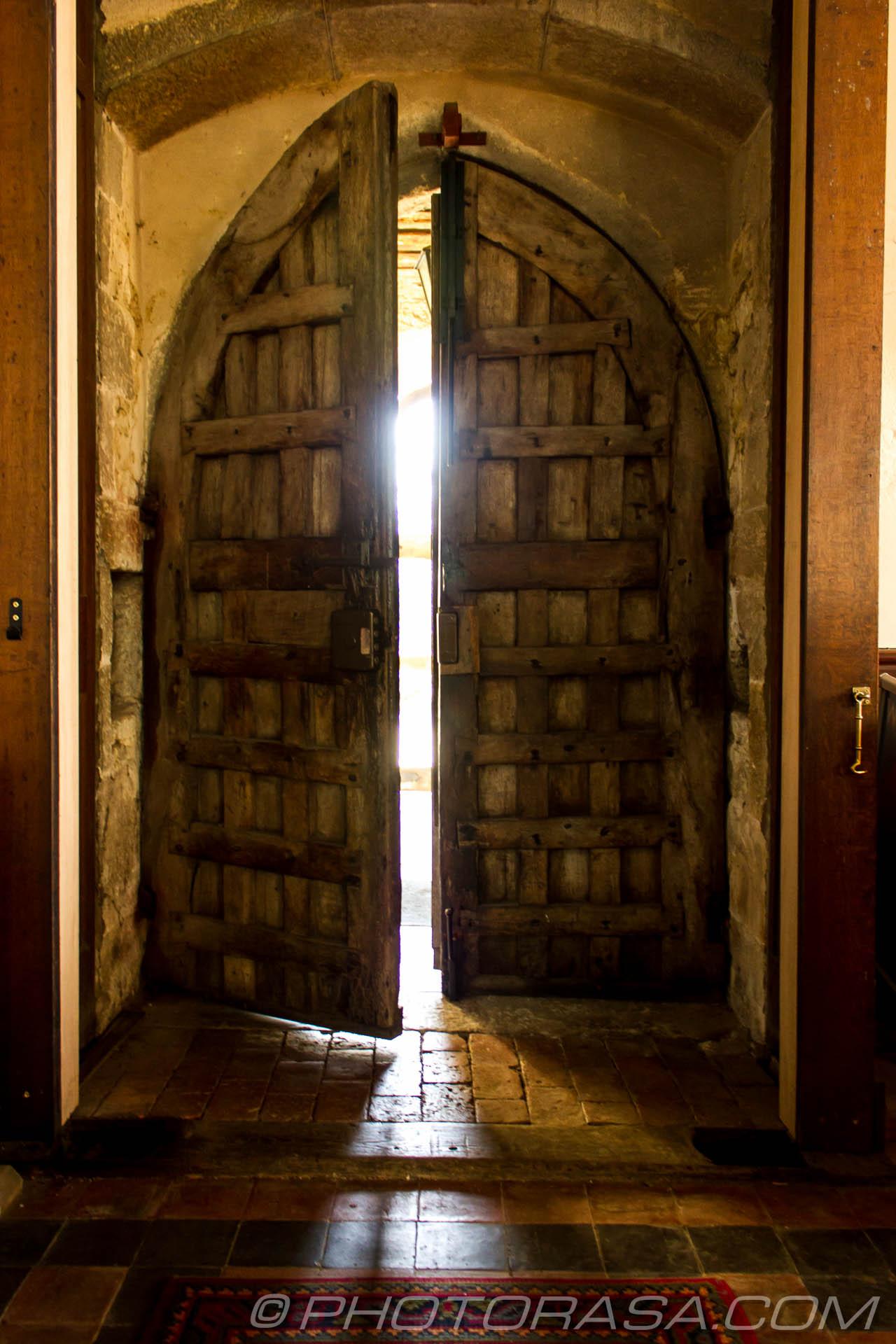 http://photorasa.com/parish-church-st-peter-st-paul-headcorn/old-church-front-door-ajar/
