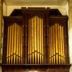 brass organ pipes