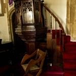chair and pulpit