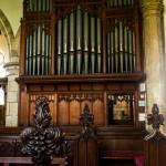 organ and pews
