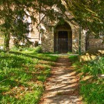 path to the church