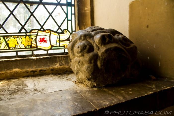 stone monster face