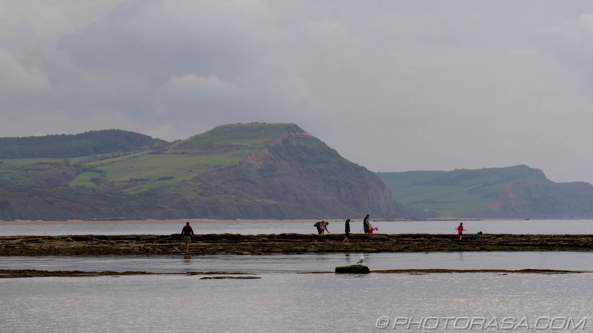 http://photorasa.com/jurassic-coast-lyme-regis/family-looking-in-the-beachy-rocks/