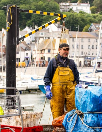 lyme regis fisherman