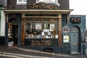 sanctuary book shop