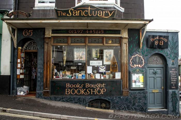 sanctuary book shop