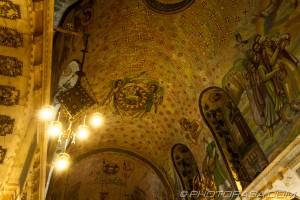 chapel roof mosaic detail
