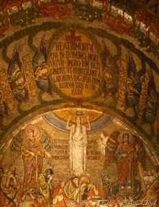 mosaic of heavenly angels