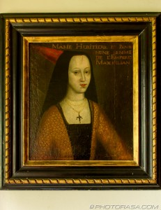 early tudor painting of mary duchess of burgundy