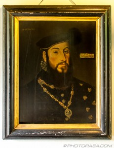 tudor painting of anthony browne, 1st viscount montague