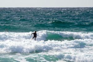 surfer at newquay