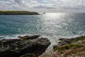 tip of west pentire from pentire peninsula