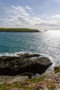west pentire from pentire peninsula