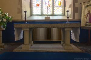 medieval english stone altar