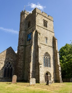 st mary's church clock tower