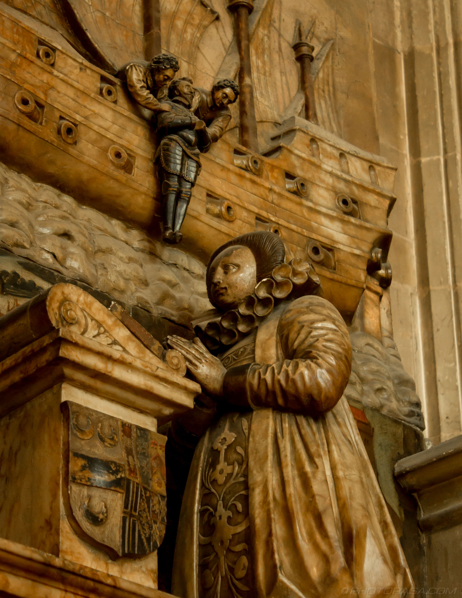 http://photorasa.com/canterbury-cathedral/close-up-of-sir-james-hays-monument-showing-suicide-by-drowning/