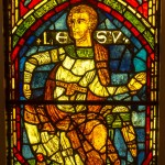 jesu joshua stained glass