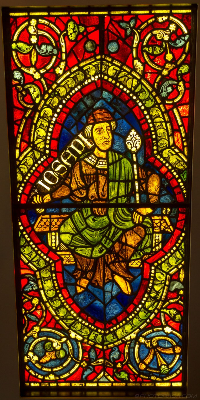 joseph stained glass