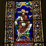 noah stained glass