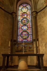 prayer alcove in north east transept