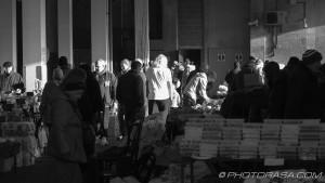 crowds at maidstone market