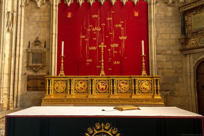 all saints chapel altar