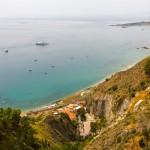 coastal view from taormina