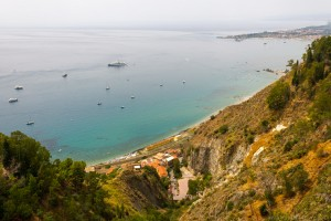 coastal view from taormina