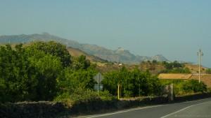 distant view of castiglione di sicilia