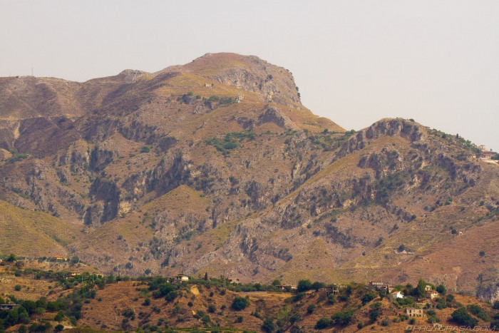 hills of east sicily