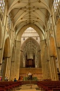 in the nave looking towards the choir