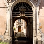 islamic entrance in catania