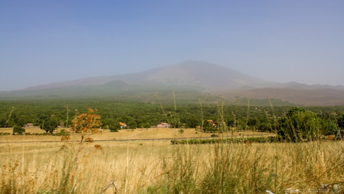 etna in the distance