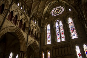 north transept five sisters window