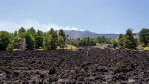sea of lava rock