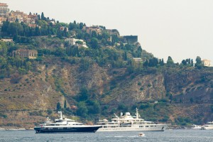 super yachts in sicily