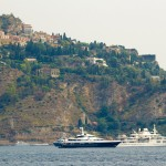 super yachts near taormina